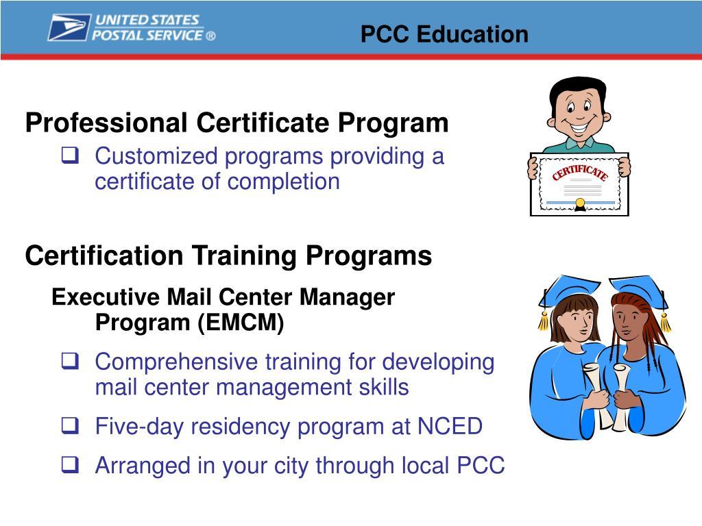 PCC Education
