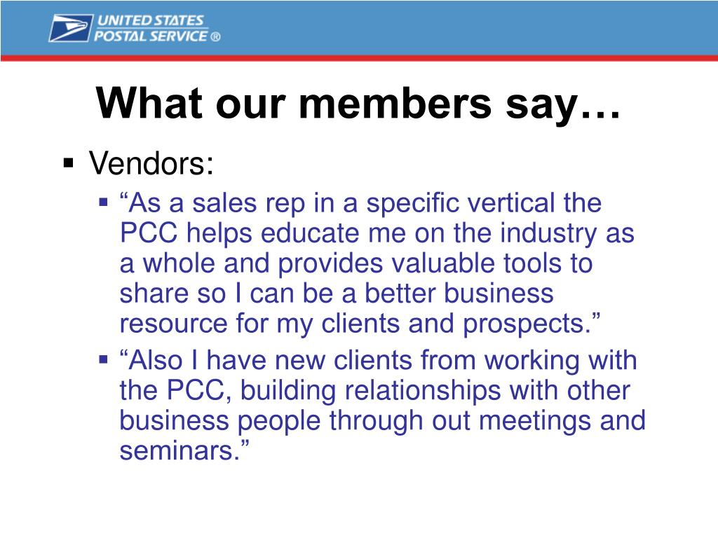What our members say…