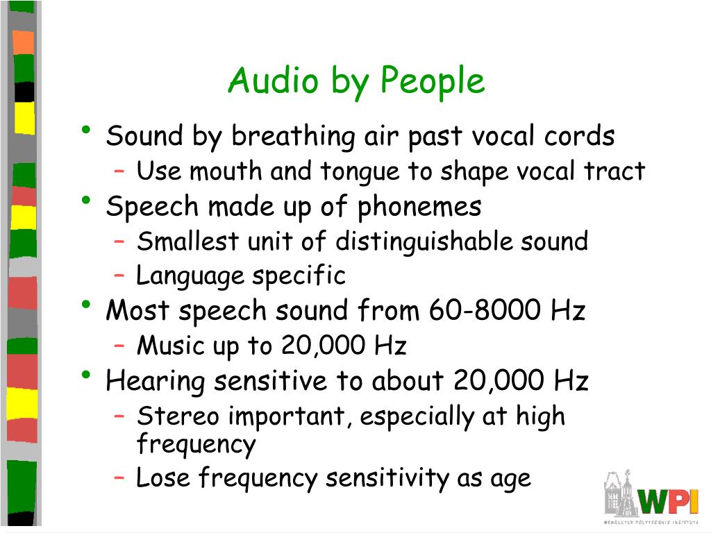 Audio by People