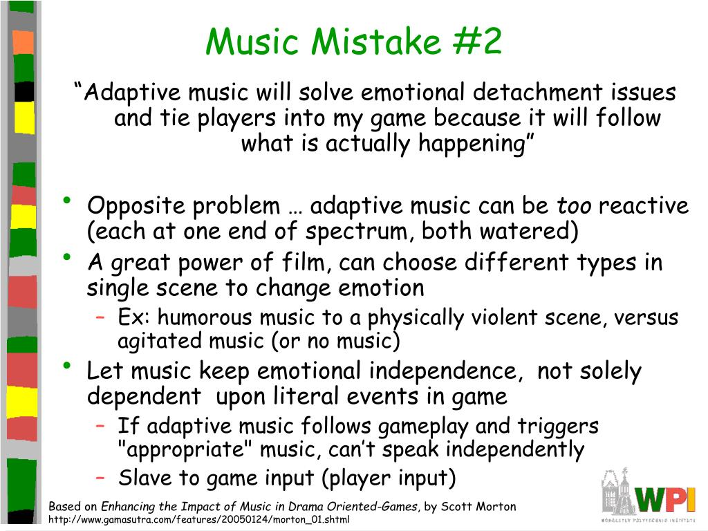 Music Mistake #2