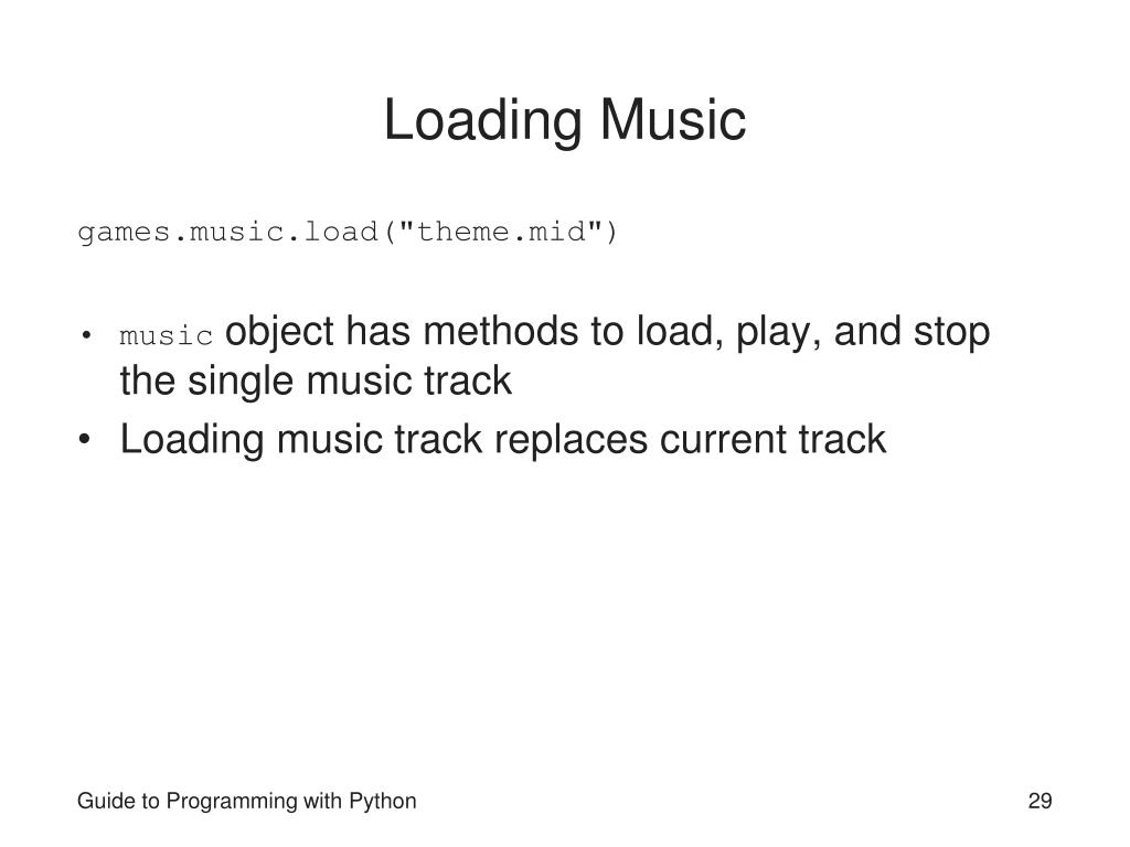 Loading Music