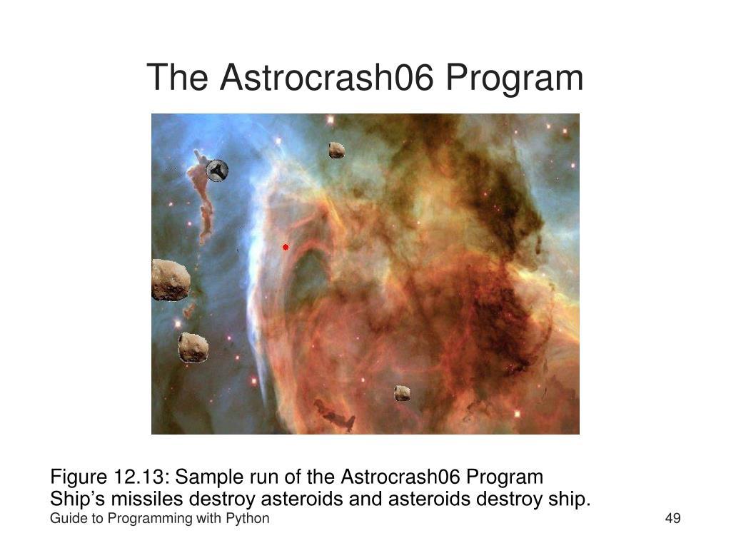 The Astrocrash06 Program