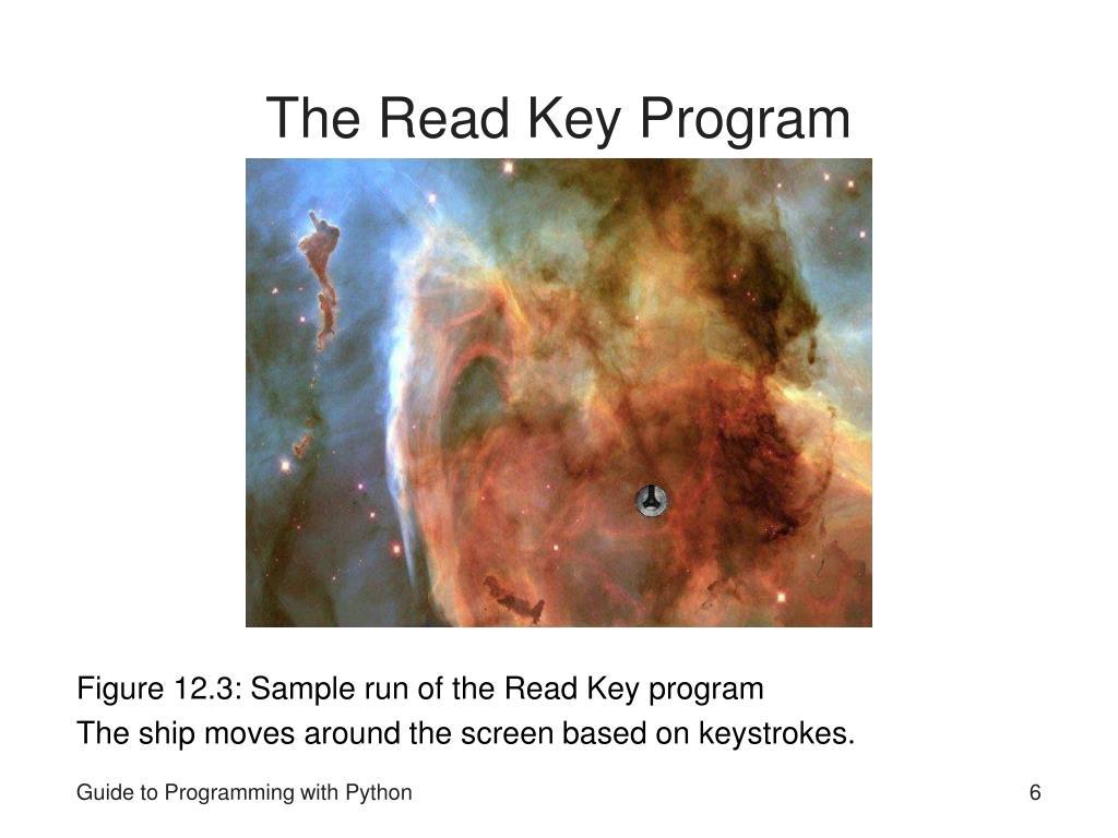 The Read Key Program