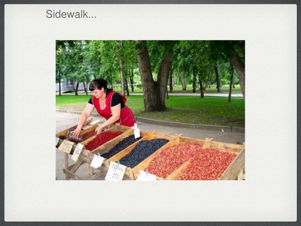Sidewalk...