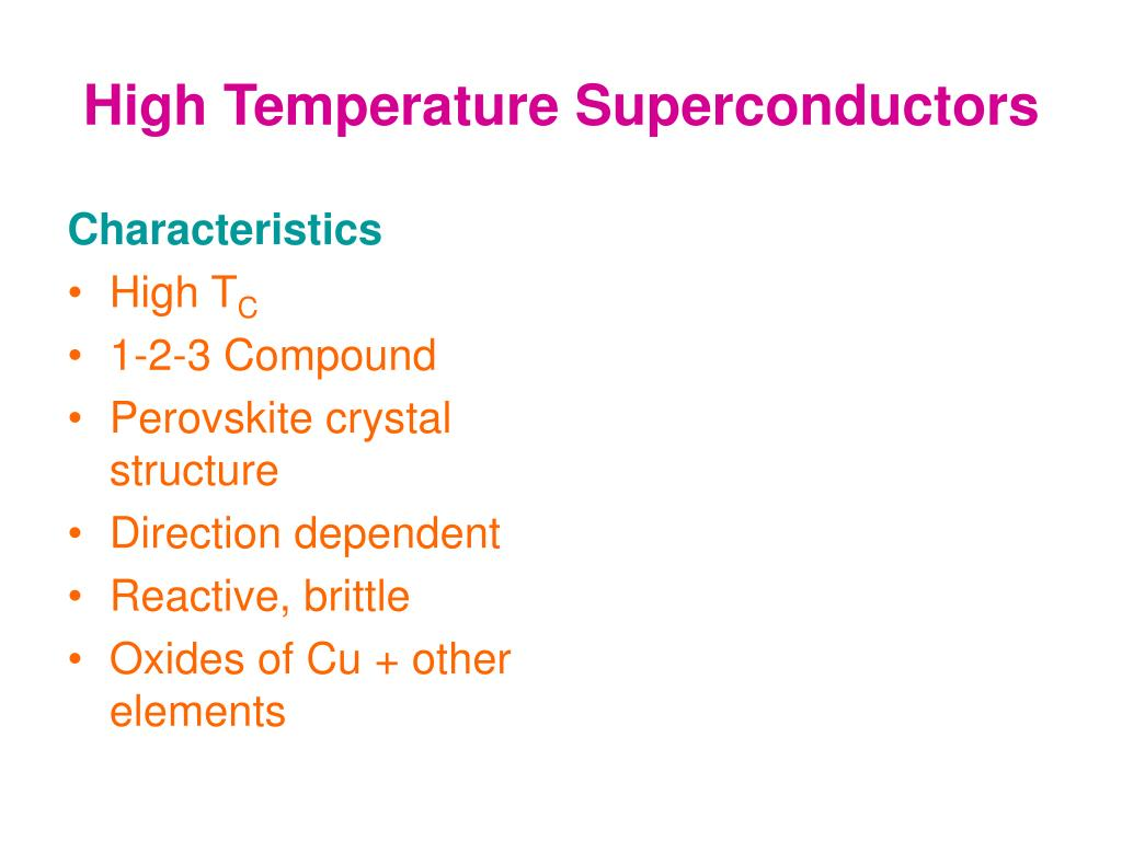 high temperature superconductivity thesis Scanning tunneling spectroscopic studies on high- temperature superconductors and dirac materials thesis by marcus lawrence teague in partial fulfillment of the.
