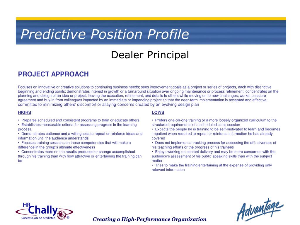Dealer Principal