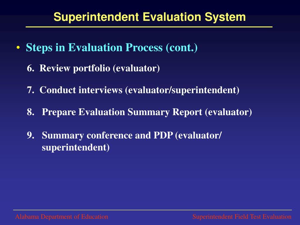 summary and evaluation
