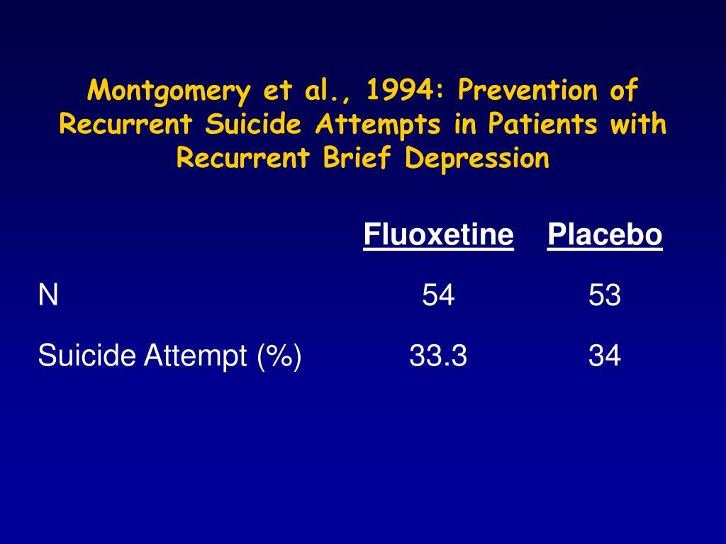 Montgomery et al., 1994: Prevention of