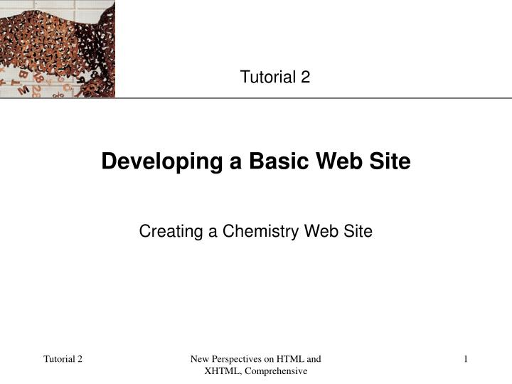 Developing a basic web site l.jpg
