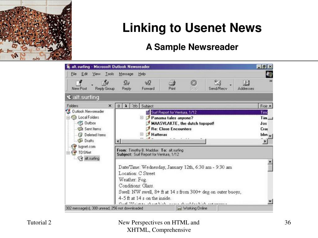 Linking to Usenet News