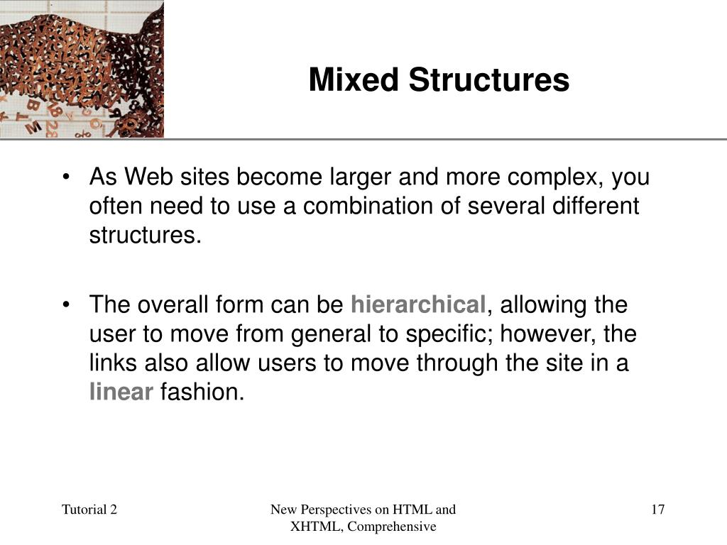 Mixed Structures