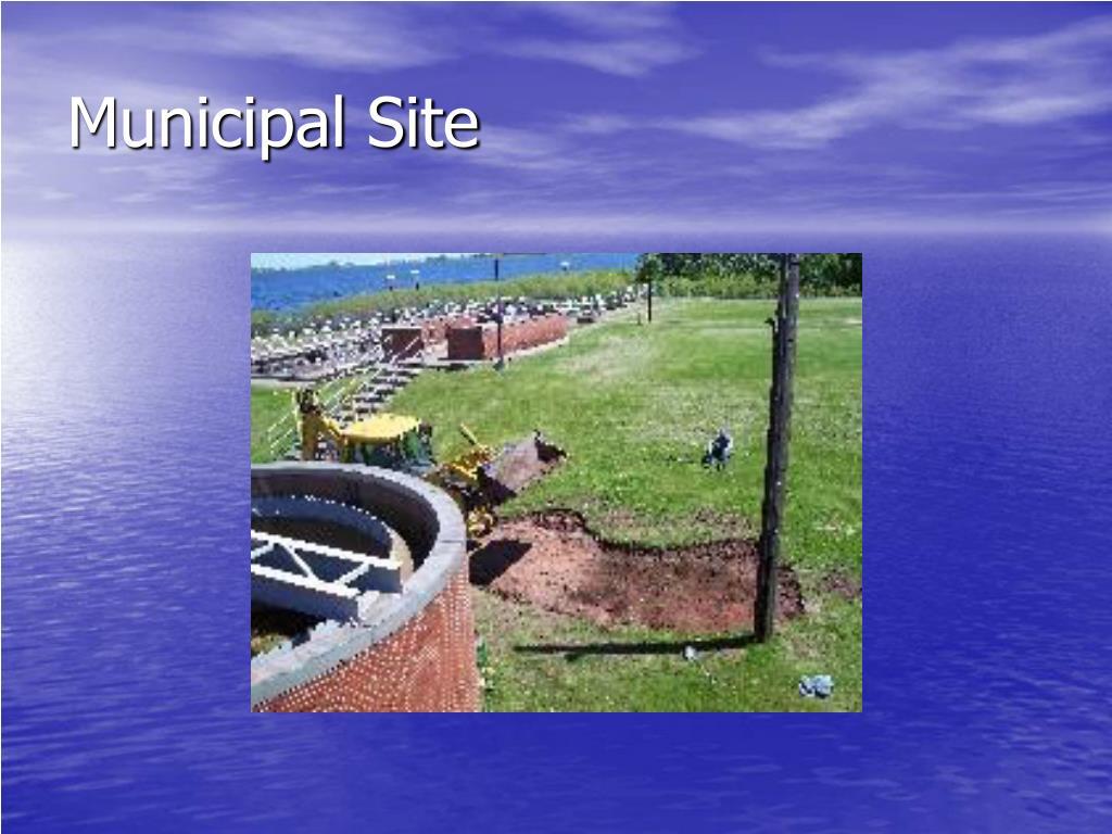 Municipal Site