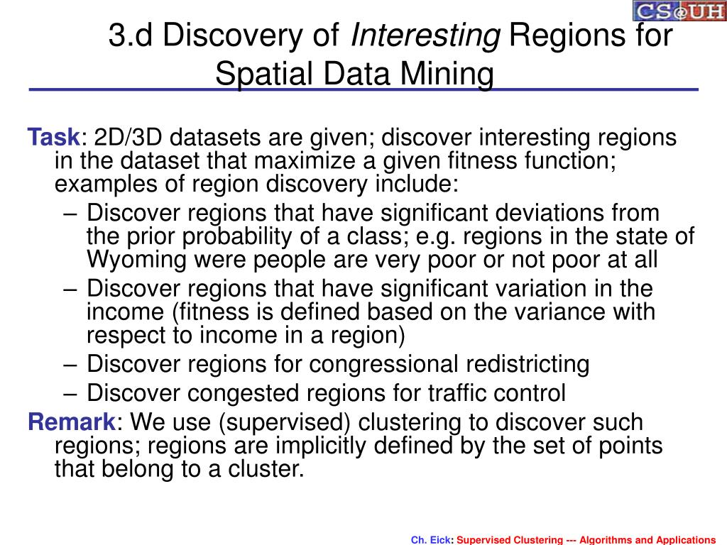 3.d Discovery of