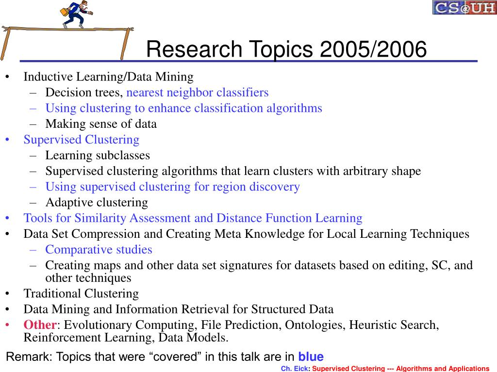 Research Topics 2005/2006