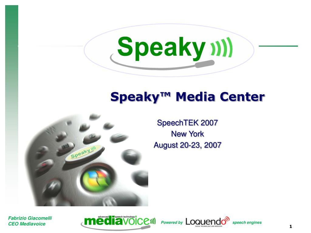 Speaky™