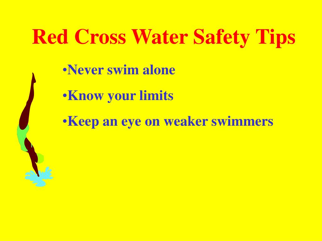 Red Cross Water Safety Tips