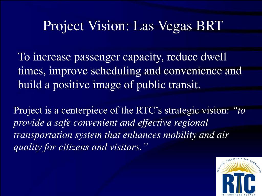Project Vision: Las Vegas BRT