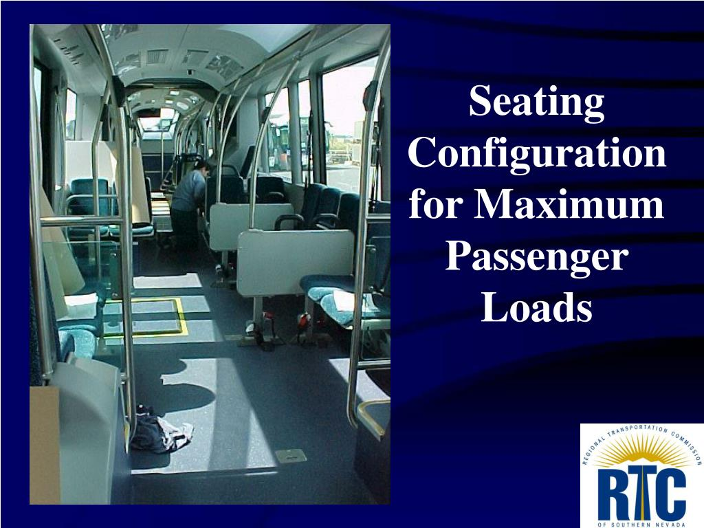 Seating Configuration for Maximum Passenger Loads