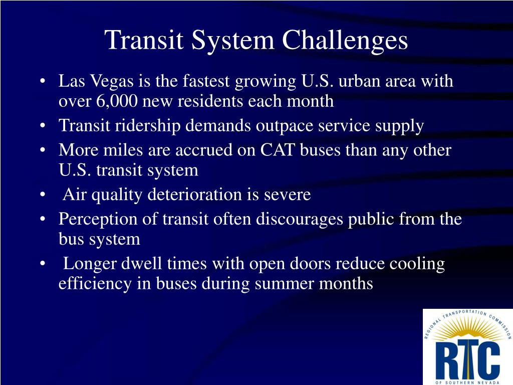 Transit System Challenges