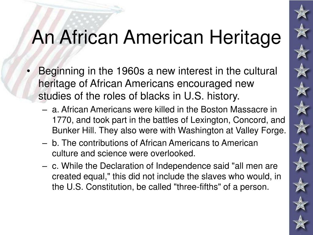 An African American Heritage