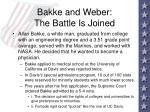 bakke and weber the battle is joined94