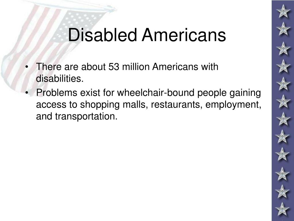 Disabled Americans