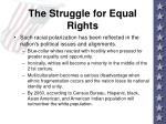 the struggle for equal rights10