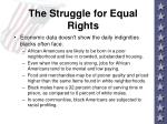 the struggle for equal rights6