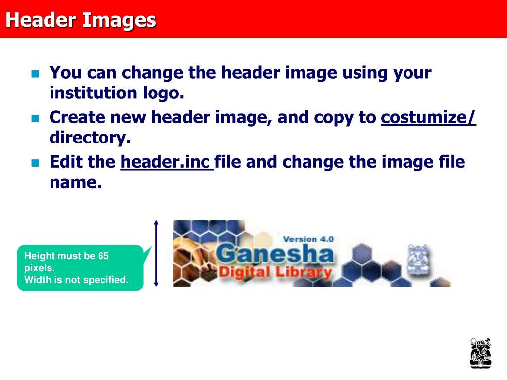 Header Images