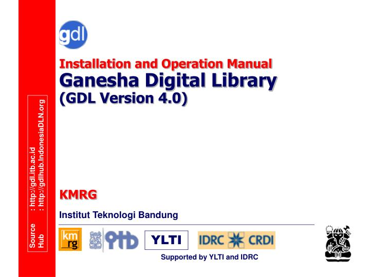 Installation and operation manual ganesha digital library gdl version 4 0 l.jpg