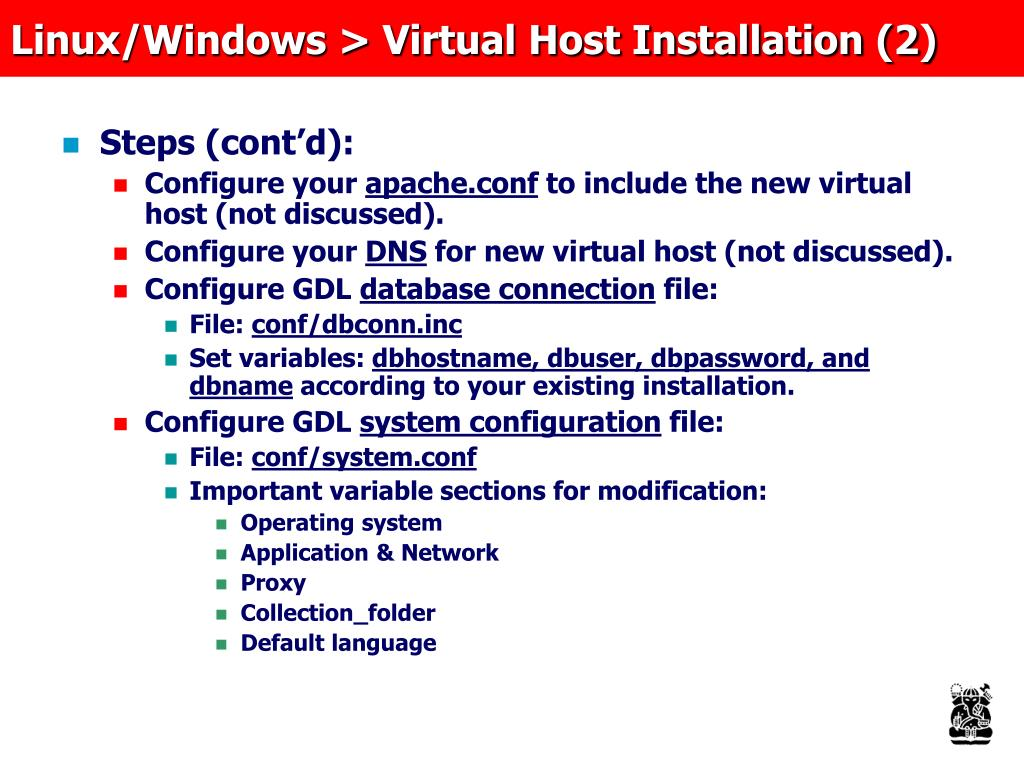 Linux/Windows > Virtual Host Installation (2)