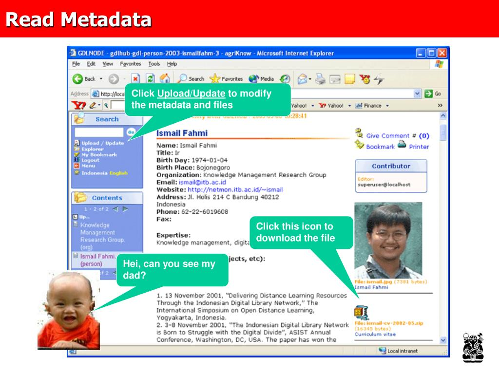 Read Metadata