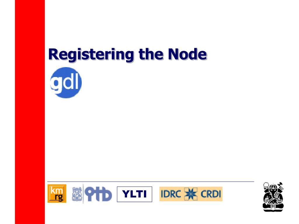 Registering the Node