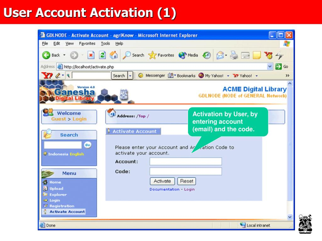 User Account Activation (1)