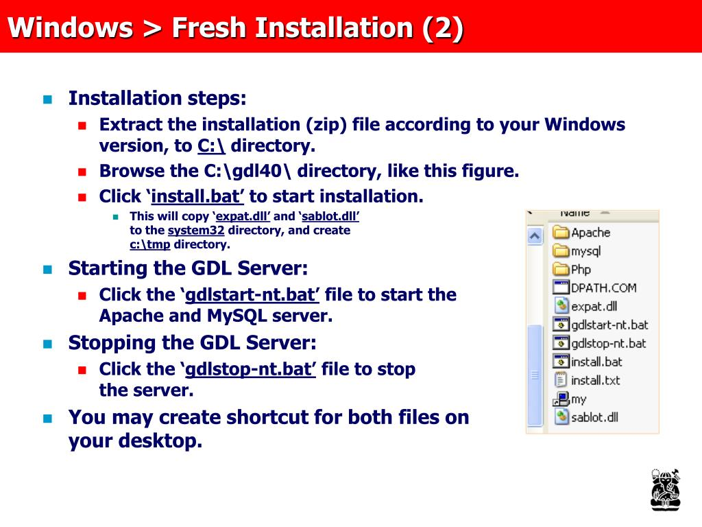 Windows > Fresh Installation (2)
