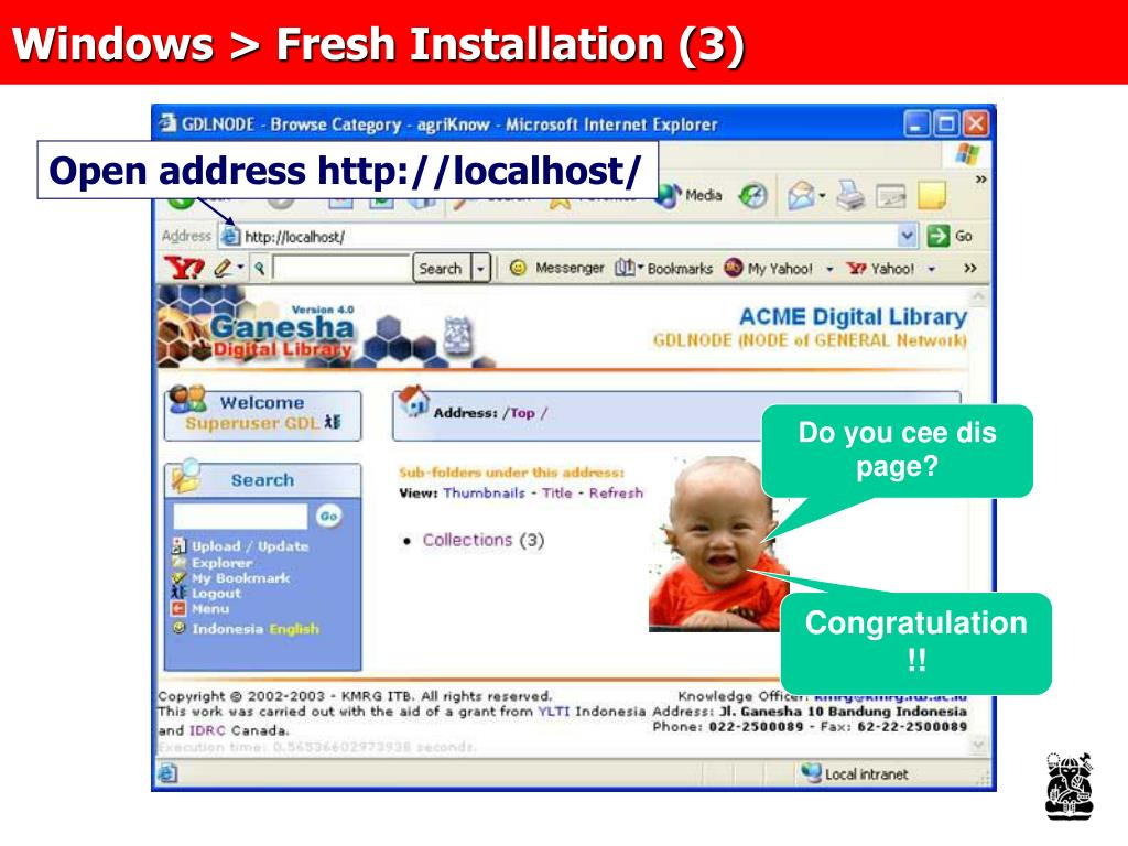 Windows > Fresh Installation (3)