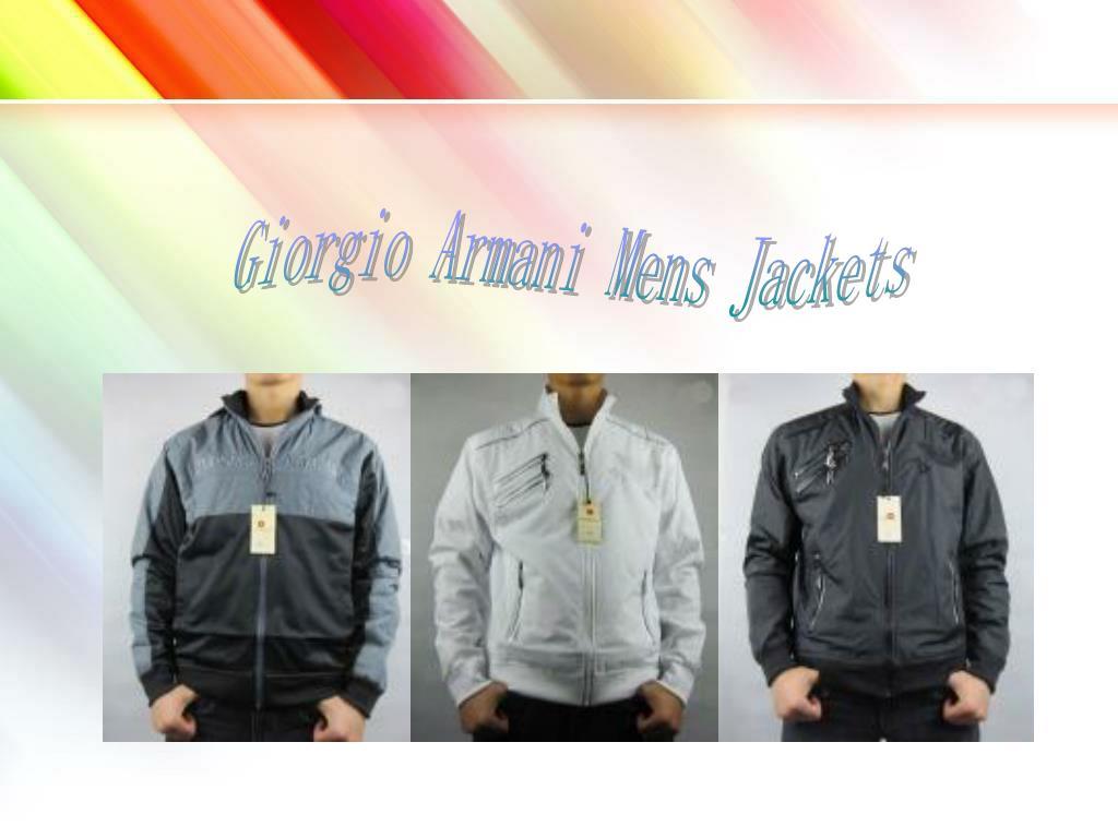 Giorgio Armani Mens Jackets