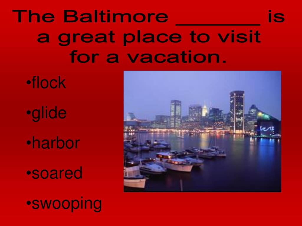 The Baltimore ______ is