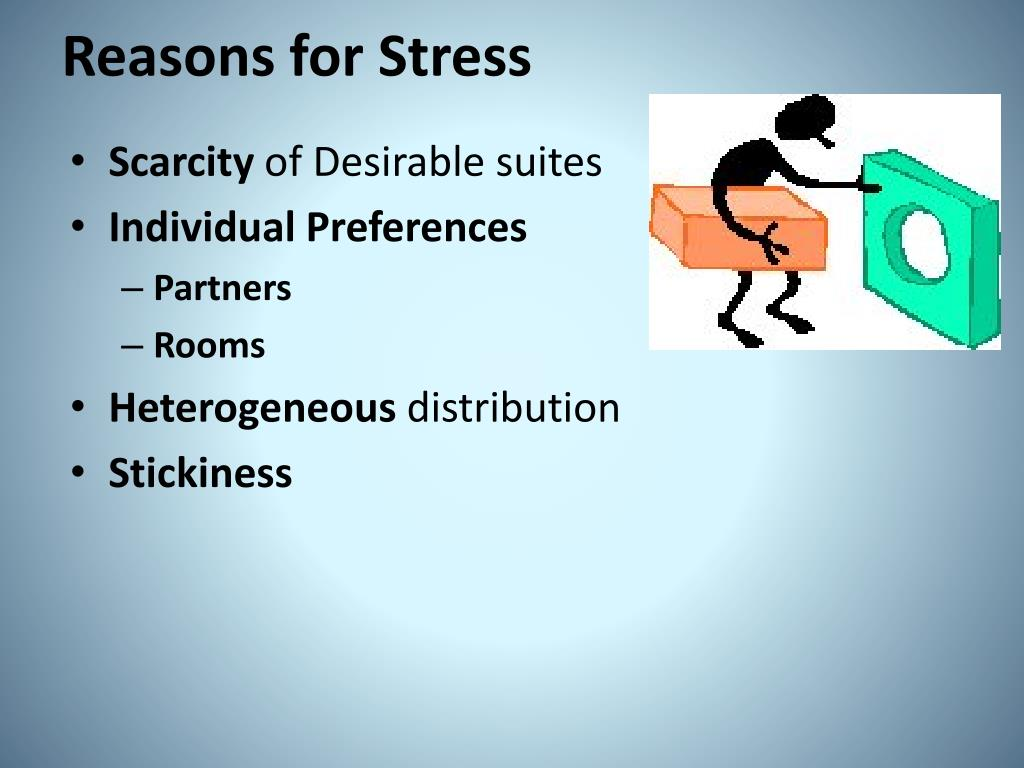 Reasons for Stress