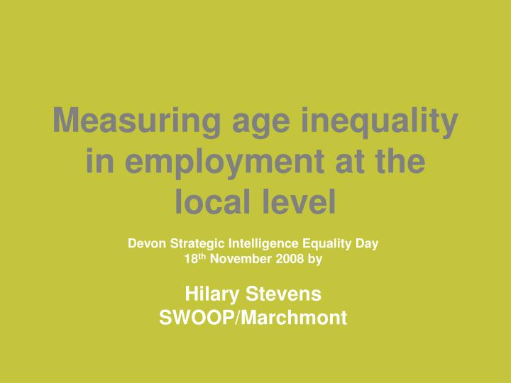 Measuring age inequality in employment at the local level l.jpg