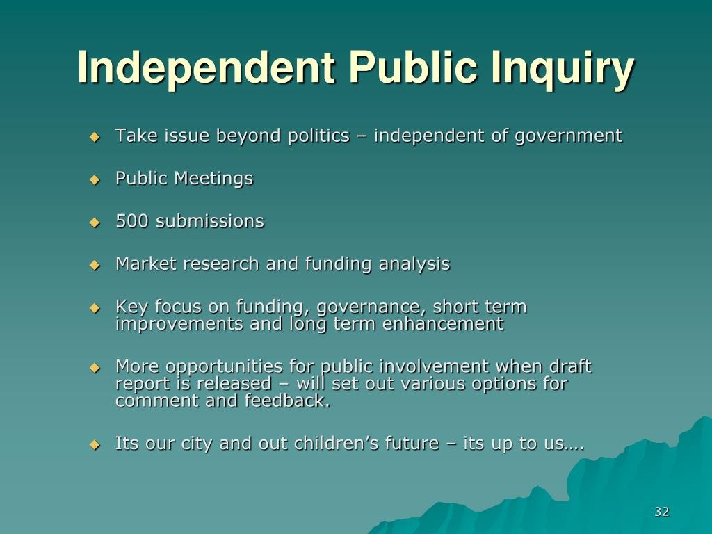 Independent Public Inquiry