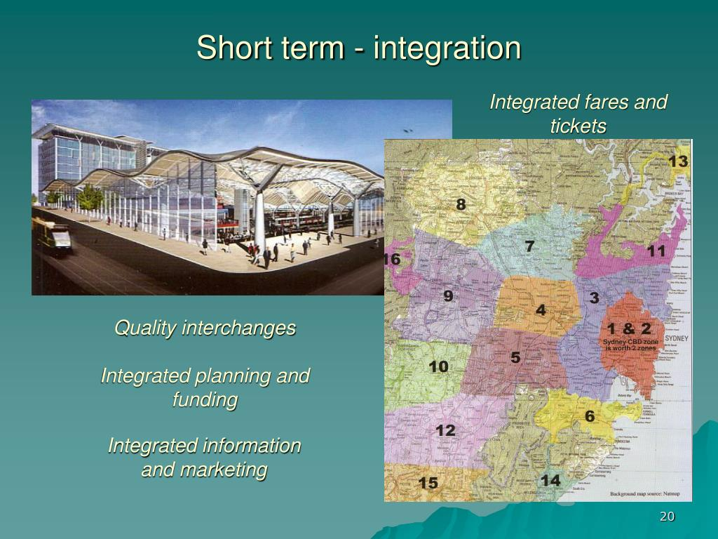 Short term - integration