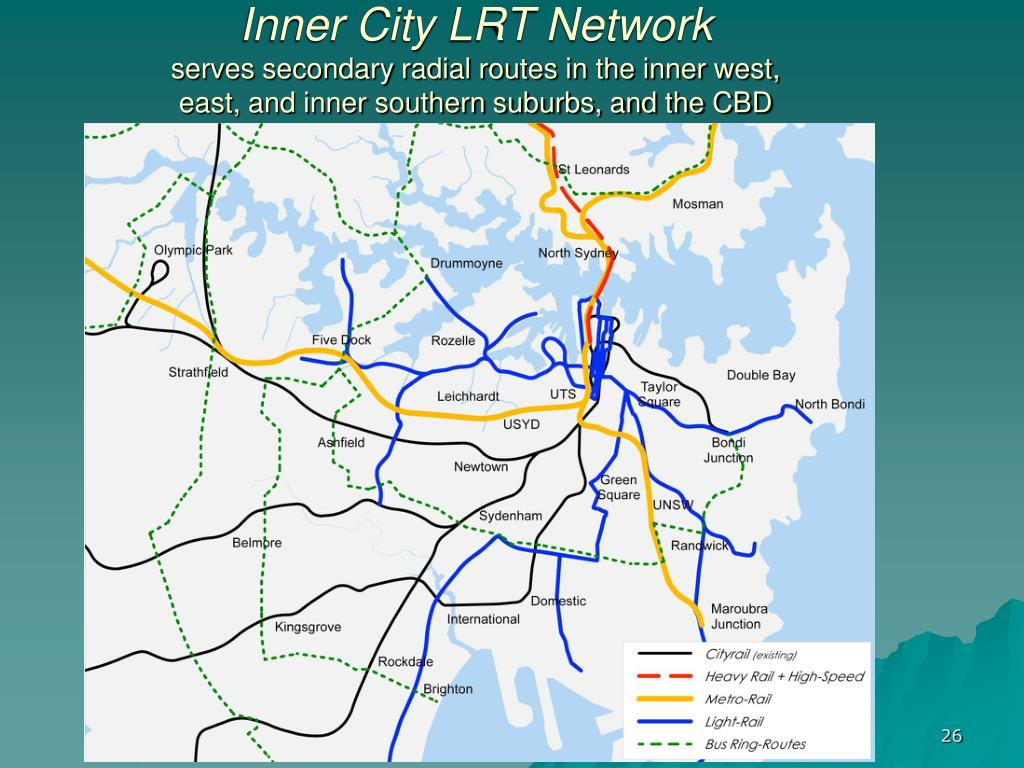 Inner City LRT Network