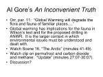 al gore s an inconvenient truth