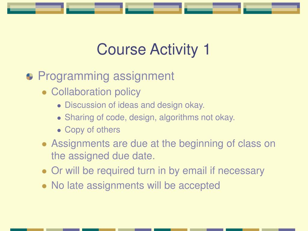 Course Activity 1