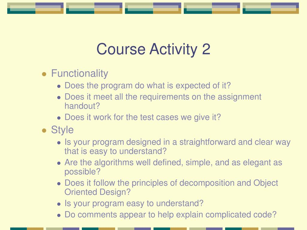 Course Activity 2