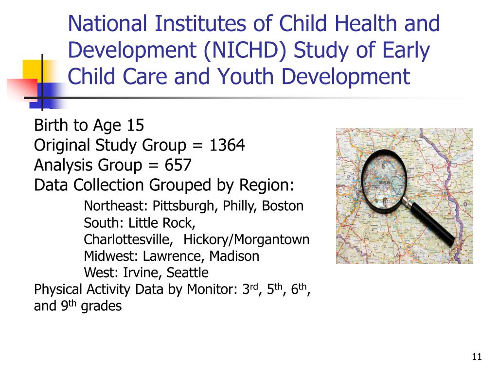 National Institutes of Child Health and Development (NICHD) Study of Early Child Care and Youth Development