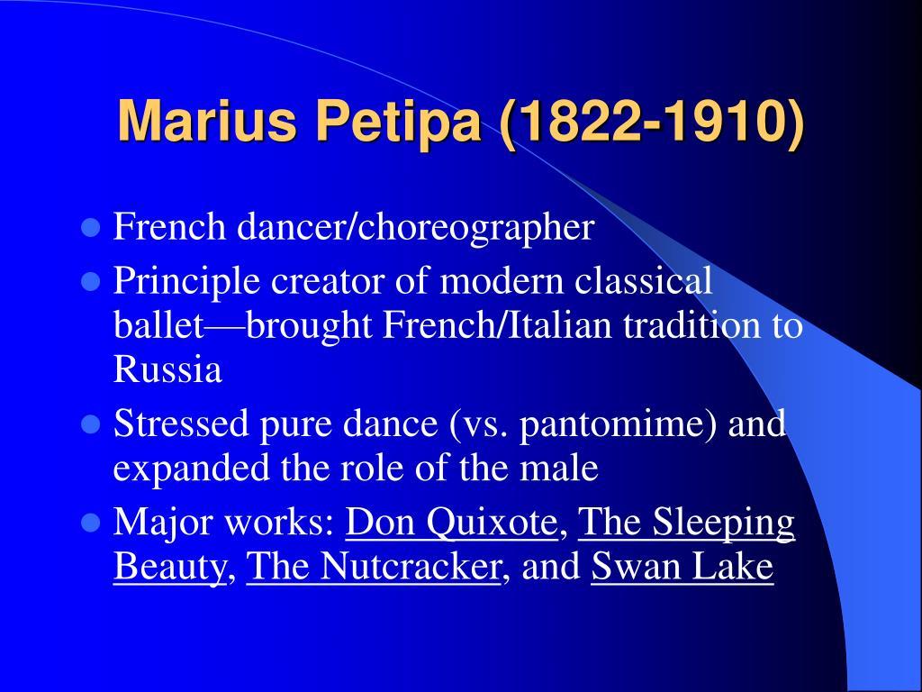 Marius Petipa (1822-1910)