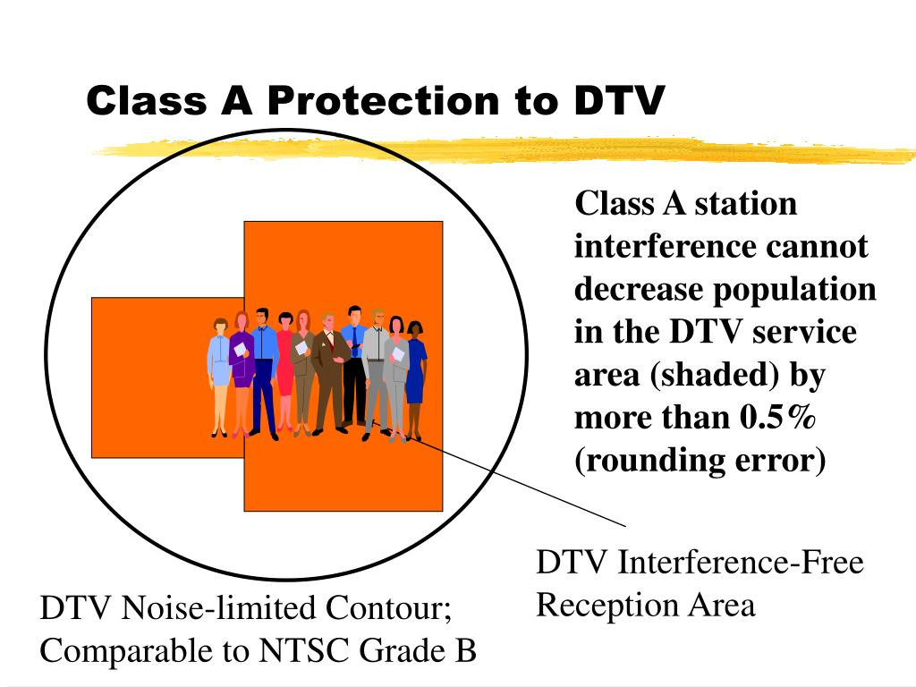Class A Protection to DTV