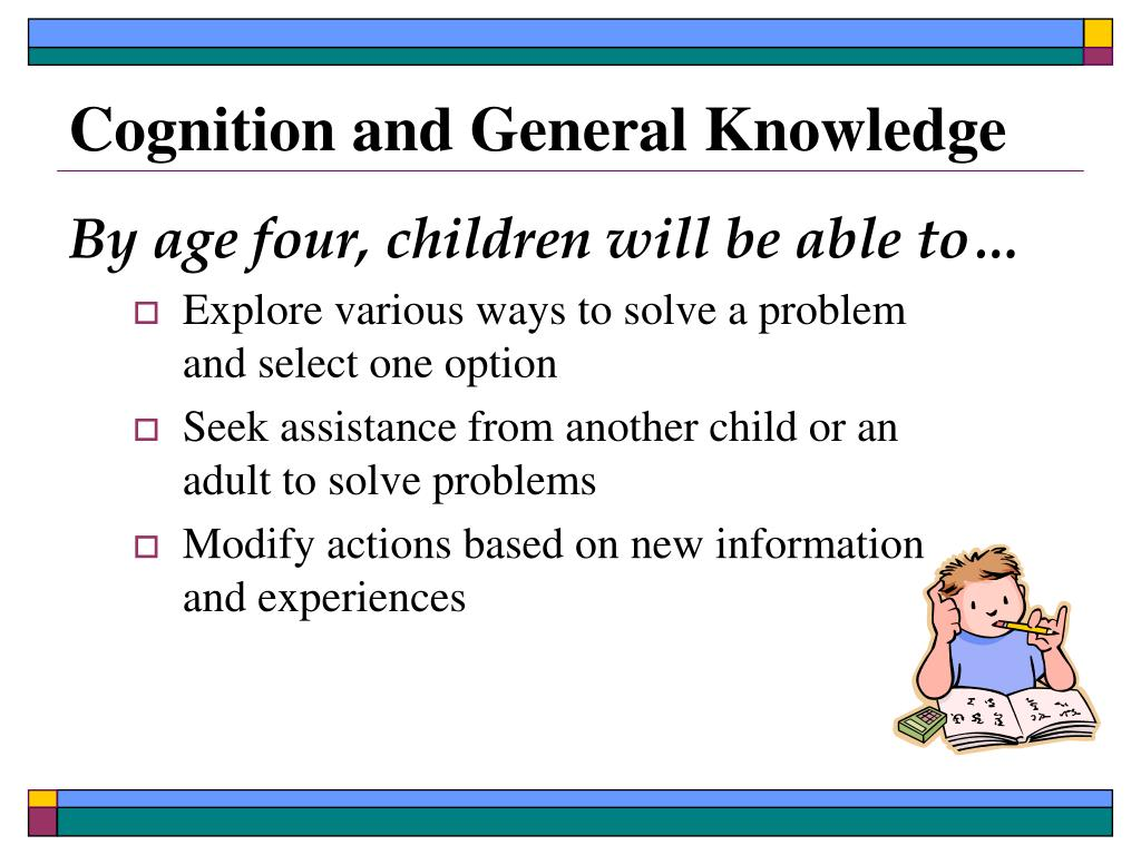 Cognition and General Knowledge